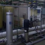Unidad de Ósmosis Inversa instalada en una fábrica de Alimentos